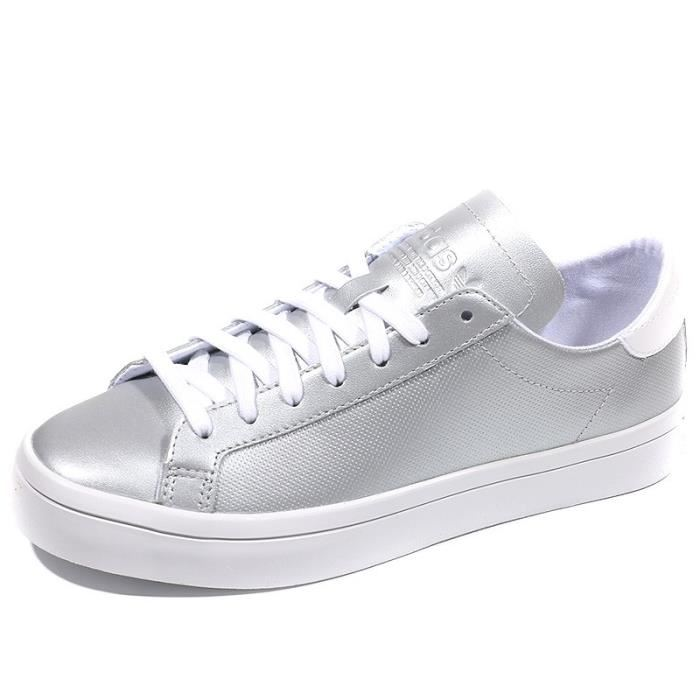 outlet store e769f 1affc adidas femme argente