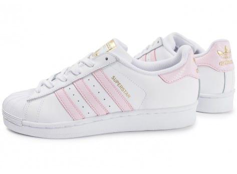 pretty nice edd11 75cb5 Meilleur Outlet connu Noir Noir-Vachetta Tan-Blanche adidas superstar blanc  rose - skoul.fr.