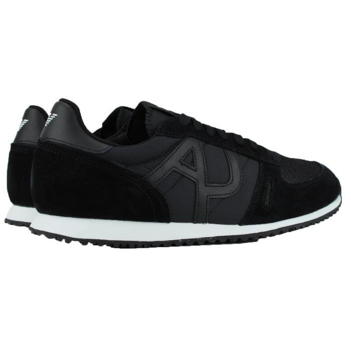 Meilleur Outlet connu Noir Noir-Vachetta Tan-Blanche chaussure armani -  skoul.fr. f12ce258578